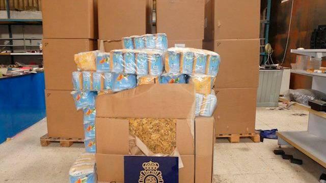 3 Toneladas de tabaco ilegal incautadas en Andújar
